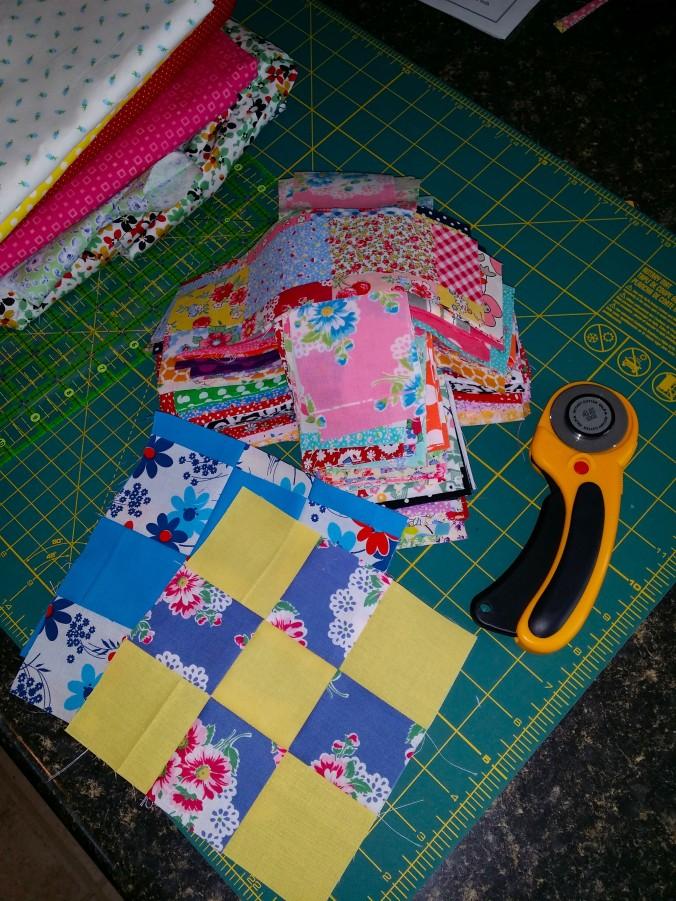 Nine patch fabrics