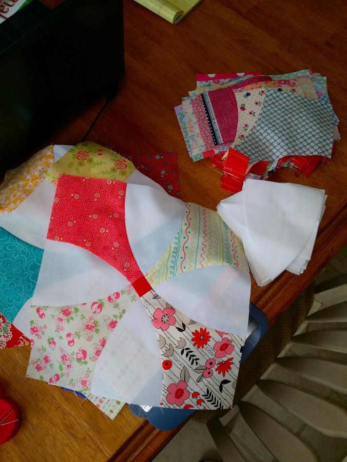Second flowering snowball fabrics