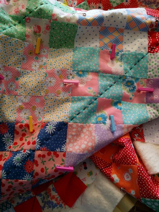 Nine Patch Pick Stitch