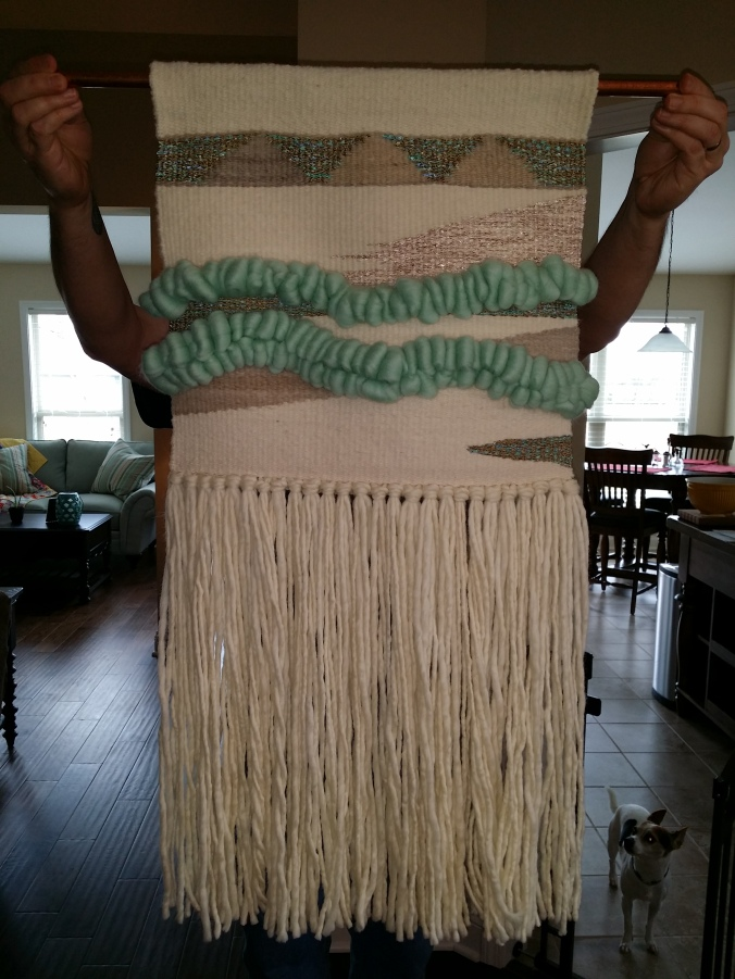 weaving finished