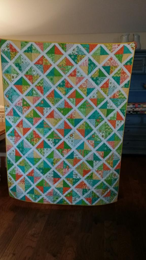 Lattice quilt front