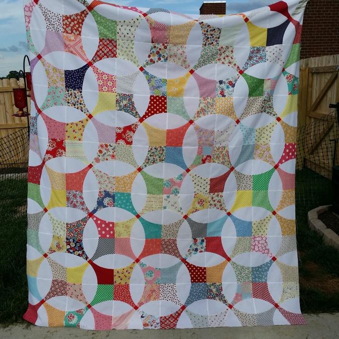 Snowball quilt 2